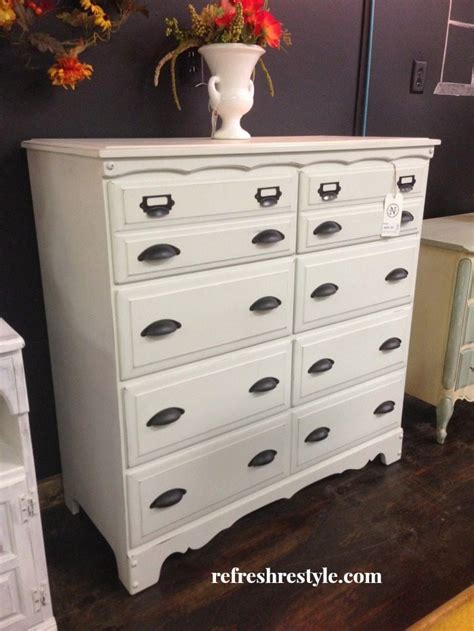 Light Colored Dresser by Just Paint It White Refresh Restyle