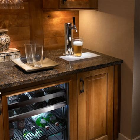 tower cabinets in kitchen planning for a kegerator in your kitchen renovation