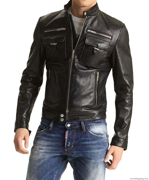 Handmade Leather Jackets - arrow designer custom made moto style leather jacket for