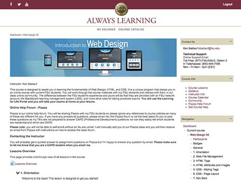 web design development certificate online team up florida state university professional development