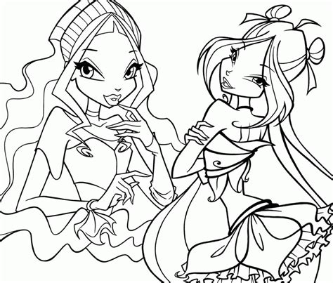 winks club coloring pages az coloring pages