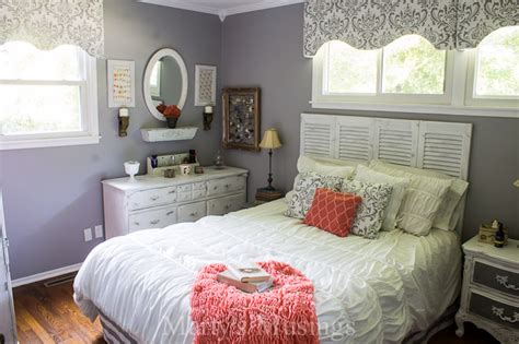 pretty things design coral gray bedroom gray and coral bedroom makeover