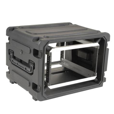 Rack Cases by Skb 3skb R06u20w Rolling 6u Shock Rack
