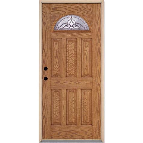 Feather River Doors 37 5 In X 81 625 In Lakewood Zinc Feather River Exterior Doors