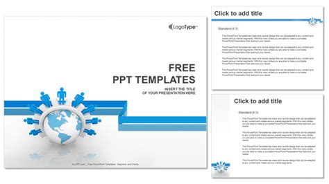 Business Network Powerpoint Templates 4 Network Ppt Templates Free