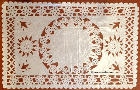 your own table runner papel picado centerpiece build your own table runner