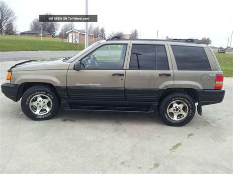 1997 Jeep Laredo 1997 Jeep Grand Laredo 4 0l 6 Cyl Great Deal