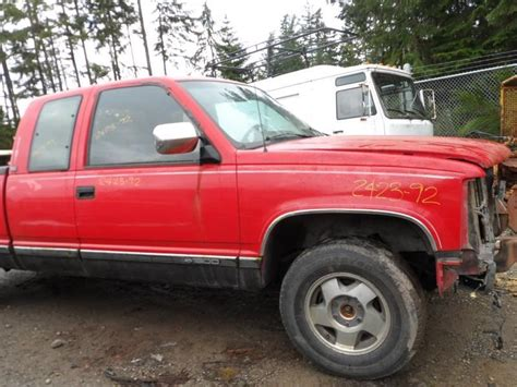 1992 gmc parts used 1992 gmc truck gmc 1500 rear box