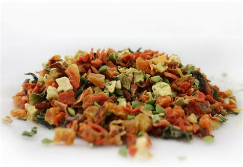dehydrated treats canine caviar synergy vegetable mix dehydrated food 2 5 lb bag chewy