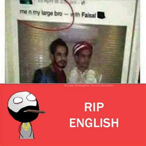 Rip English Meme - image gallery rip english