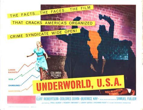 film underworld usa underworld usa original film poster movie poster studio 405