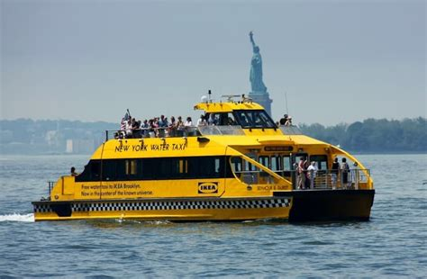 boat transport york new york water taxi a great way to explore nyc hilton