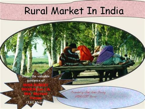 Mba In Rural Management In India by Rural Market In India Authorstream