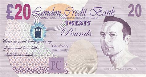 printable fake money pounds print out your own doctor who david tennant bank notes