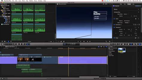 final cut pro optical flow final cut pro x tutorial pt 25 time remapping optical