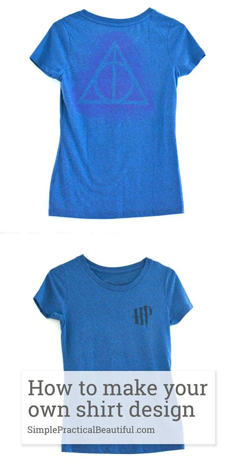 deathly hallows shirt simple practical beautiful