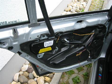 Bmw 1er Cabrio Fensterheber Ausbauen by Bmw E39 Ausbau T 252 R T 252 Rverkleidung Hinten