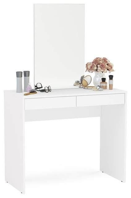 contemporary bedroom vanity set boahaus contemporary vanity set dressing table with mirror