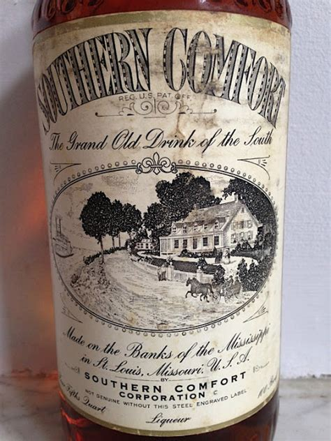 southern comfort old bottle gastronomista a guide to vintage spirits with edgar