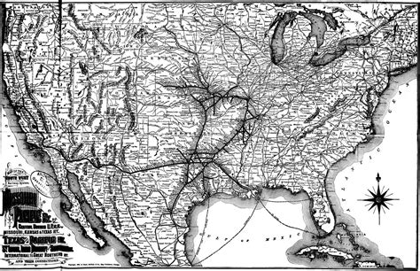 missouri pacific railroad map map of the south west railway system missouri pacific ry