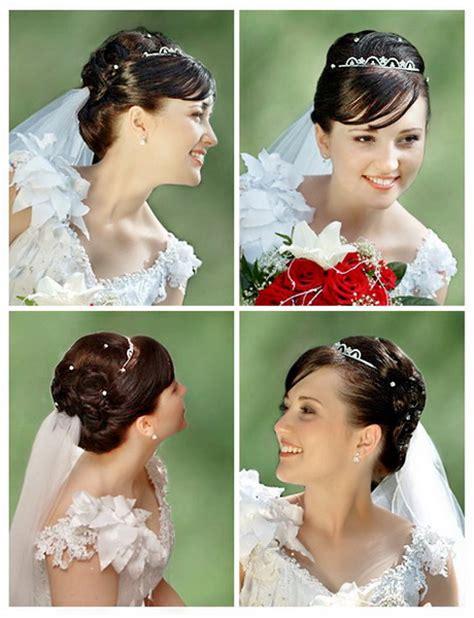 Brautfrisuren Kurze Haare Mit Schleier by Brautfrisuren Mit Schleier Und Diadem