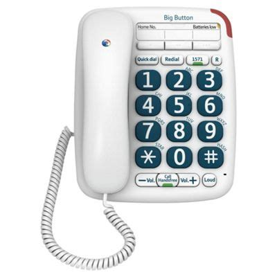 tesco mobile telephone number buy bt 200 big button corded home phone from our corded