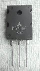 m67580 transistor for ignition module mitsubishi