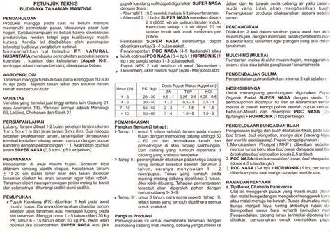 Bvr Nasa Depok 1 paket budidaya mangga organik nasa nasa official
