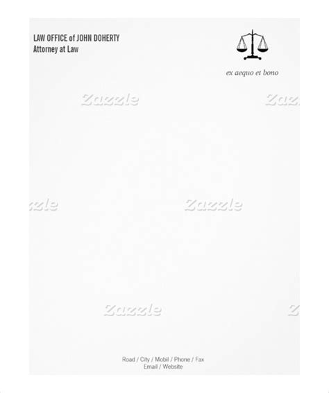 20 Law Firm Letterhead Templates Free Sle Exle Format Download Free Premium Templates Office Letterhead Template Free