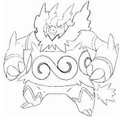 Disegni Da Colorare Pokemon Nero E Bianco