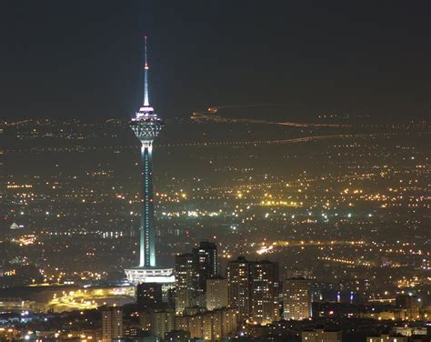 Milad Tower Tehran Iran Go To Iran