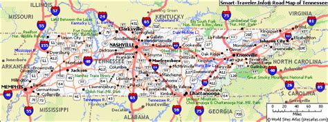 A Map Of Tennessee by Map Of Tennessee Pictures Map Pictures
