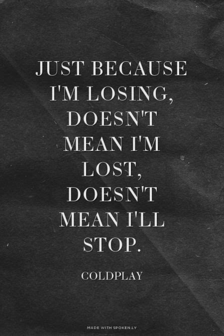 coldplay lost lyrics pinterest the world s catalog of ideas