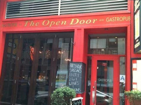 Open Door Gastropub by Join The Happy Hour At Open Door Gastropub In New York Ny