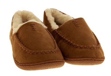 mens sole slippers mens fluffy slippers faux fur lined faux suede outdoor