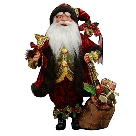 Mos G16 16 quot inch standing whimsical santa claus figurine