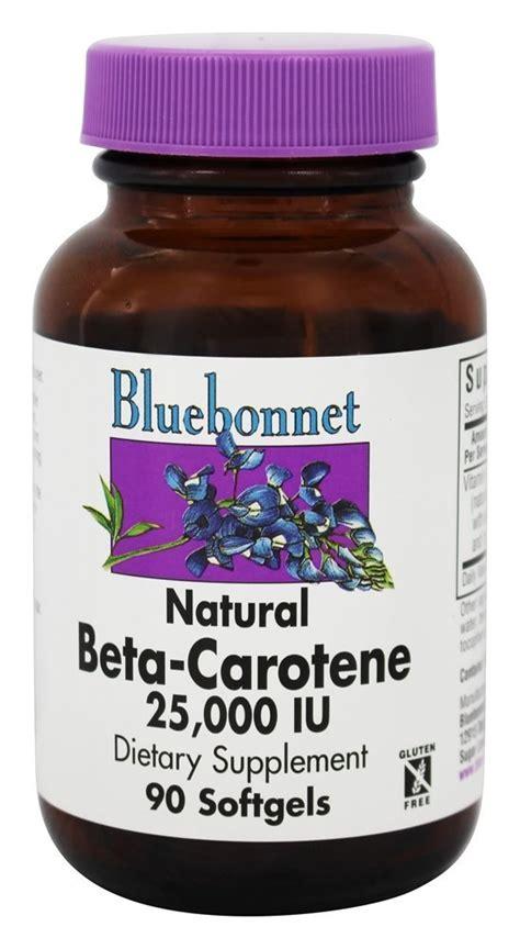 Beta Carotene Detox by Buy Bluebonnet Nutrition Beta Carotene 25000 Iu