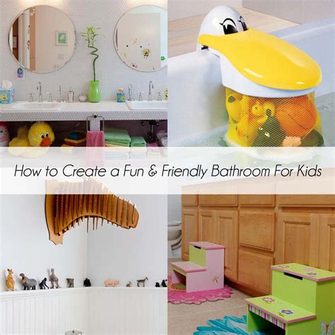 ideas for kids bathroom how to create a fun and friendly bathroom for kids