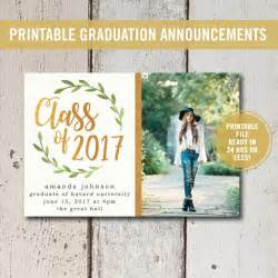 college graduation invitation printable high school