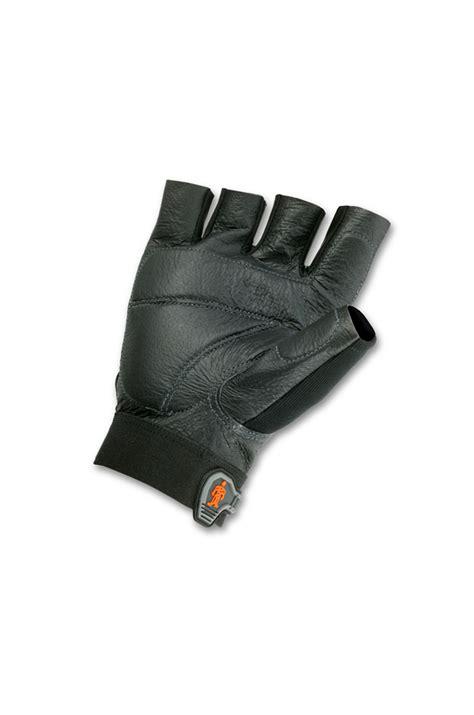 Glove Mpact Half Fingger Od half finger impact gloves 900 quot proflex quot ergo 900 safetyliftingear
