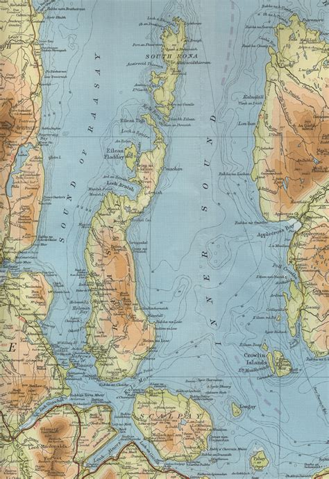 a map of the raasay map
