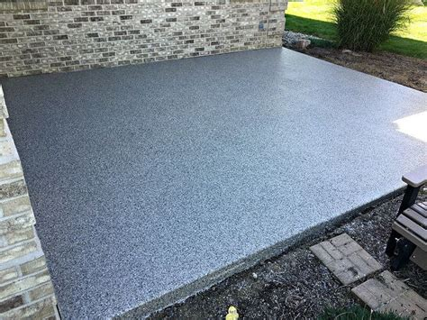 resurface concrete patio ideas best 20 concrete resurfacing ideas on