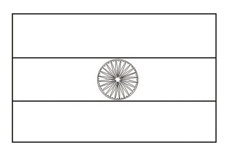 India Flag Coloring Page india flag coloring page az coloring pages