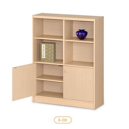 4 shelf bookcase with doors 4 shelf bookcase w door