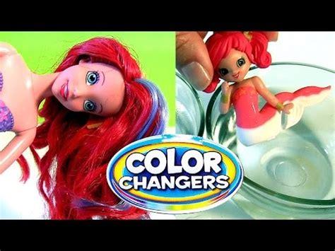 Disney Muda boneca ariel muda de cor disney the mermaid ariel magic color changing mermaids magiki