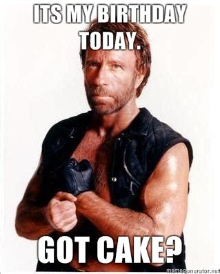 Chuck Norris Birthday Meme - it s friday it s my birthday time to listen to the delta