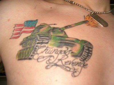 chest tattoo military army tattoo images designs