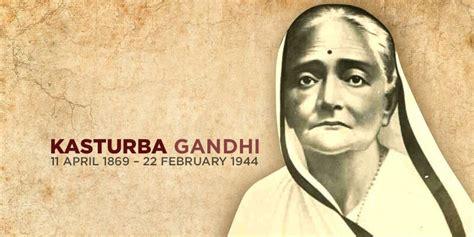 biography of mahatma gandhi in points kasturba gandhi the larger than life shadow of mahatma gandhi