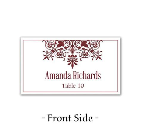 wedding place cards template for microsoft word instant quot regency quot wedding place cards microsoft