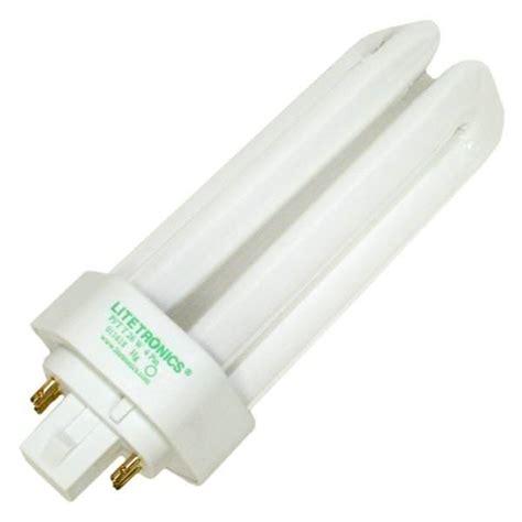 fluorescent heat l bulbs litetronics 49660 4 pin base compact